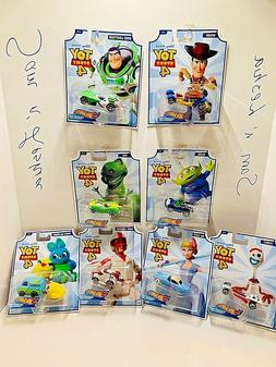 HOT WHEELS DISNEY CHARACTER CARS TOY STORY 4 BUZZ WOODY BUNN