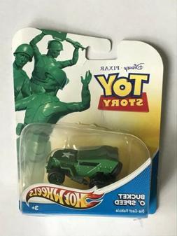 Disney Pixar 2011 Toy Story Bucket O' Speed Hot Wheels Die C