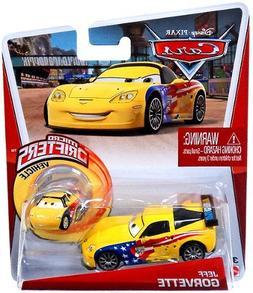 Mattel Disney/Pixar Cars Jeff Gorvette Diecast and Micro Dri
