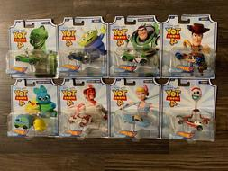 Hot Wheels Disney Pixar Toy Story 4 Full set of 8 Cars Woody
