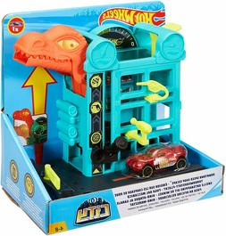 Hot Wheels Downtown Speed Shop Escape, playset