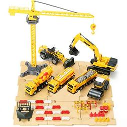 engineering construction vehicles site