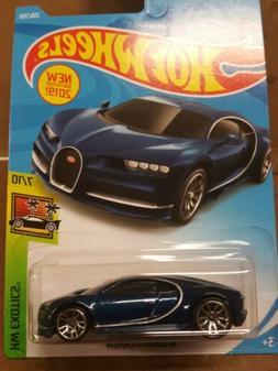 Hot Wheels Exotics: '16 Bugatti Chiron - Blue