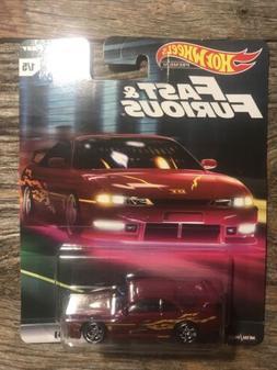 "HOT WHEELS Fast & Furious ""Original Fast"" - NISSAN 240SX S14"