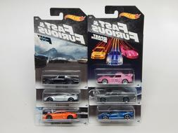 Hot Wheels Fast and Furious Walmart Exclusive Set of 6 Nissa