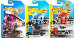 Fast-Bed Hauler & Back Slider Trucks Hot Wheels 2014 Variant