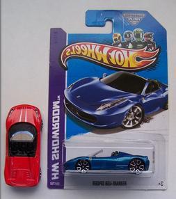 Hot Wheels Ferrari 458 Spider Choice Lot