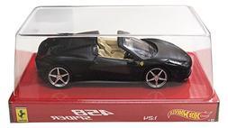Hot wheels BLY65 Ferrari 458 Italia Spider Matt Black 1/24 D