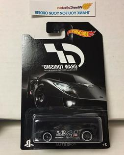 Ford GT LM * BLACK * Gran Turismo Series * Hot Wheels * NB7