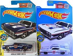 Hot Wheels 1969 Ford Torino Talladega Unocal 76 in Blue and