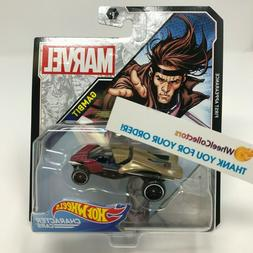 Gambit * 2019 Hot Wheels MARVEL Character Cars Case M