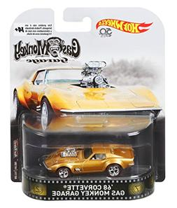 Hot Wheels Gas Monkey 68 Corvette Vehicle, 1:64 Scale