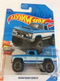 Hard To Find 2020 Hot Wheels Hot Trucks '70 Dodge Power Wago