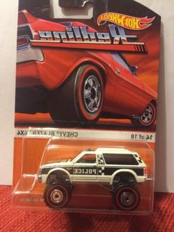 Hot Wheels Heritage Redlines Chevy Blazer 4x4