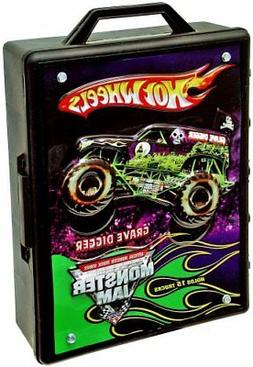 HIGH QUALITY Hot Wheels Monster Jam 15- Truck Storage With C