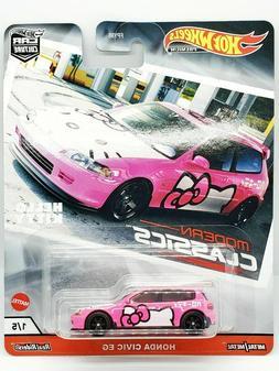 Hot Wheels Honda Civic EG Hello Kitty Modern Classics FPY86-