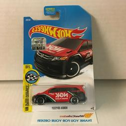 Honda Odyssey #58 * RED * 2017 Hot Wheels Factory Set * HG32