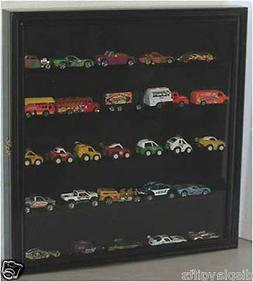 Hot Wheels 1:64 Scale Diecast Display Case Wall Rack Cabinet