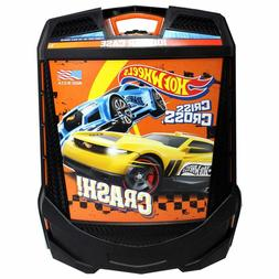 Hot Wheels 100-Car Rolling Storage Case with Retractable Han