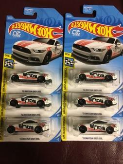 Hot Wheels 2015 Mustang GT  Borla Ford Racing Lot Of 6 VHTF