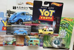 HOT WHEELS 2020 RETRO ENTERTAINMENT SET OF 5 CASE S VW MYSTE