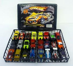 HOT WHEELS 24 CAR CARRYING CASE Tara Toys Holds Die-Cast Car