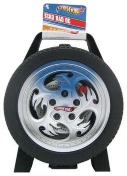 hot wheels 30 car storage case handle