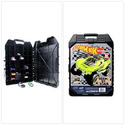 Hot Wheels 48- Car storage Case With Easy Grip Carrying, Toy