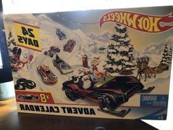 Mattel - Hot Wheels - Advent Calendar  Calendar, Gift Set, T