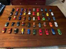 hot wheels and matchbox lot of 50 FREE SHIPPING