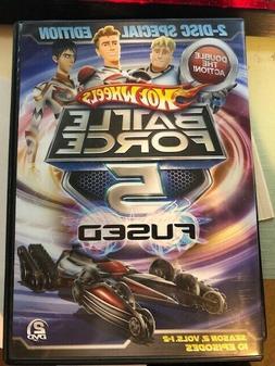 Hot Wheels: Battle Force 5-Fused, Season 2, Vols. 1-2, 10 Ep