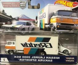 Hot Wheels Car Culture Team Transport #2 Nissan Laurel 2000