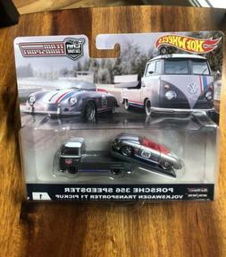 Hot Wheels CAR CULTURE TEAM TRANSPORT Porsche 356 Speedster
