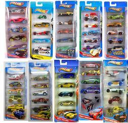 Mattel Hot Wheels Cars 5-Packs