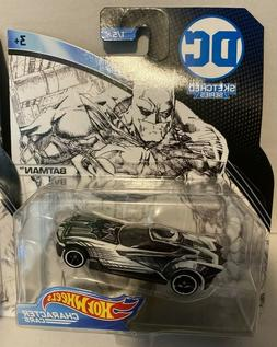 Hot Wheels Character Cars DC Sketched Series BATMAN 1 OF 5