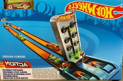 hot wheels drag race track set