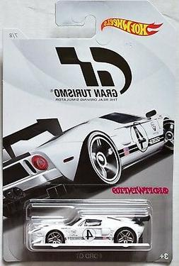 HOT WHEELS GRAN TURISMO 2018 FORD GT WHITE