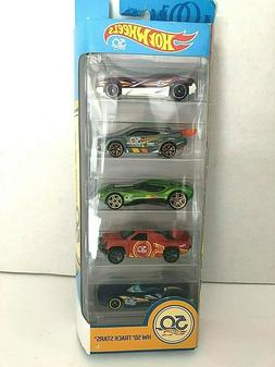 Hot Wheels HW 50 Track Stars 50th Anniversary Set of 5 Cars