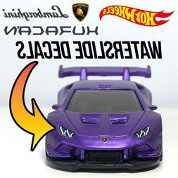 Hot Wheels Lamborghini Huracan Super Trofeo Custom WaterSlid