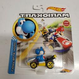 Hot Wheels Mariokart Light Blue Yoshi by Mattel