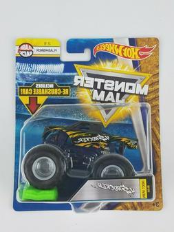 Hot Wheels Monster Jam TItan 1/64th Monster Truck Re-crushab