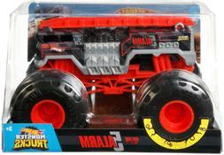 Hot Wheels Monster Trucks 1/24 Scale HW Fire 5 ALARM Die Cas