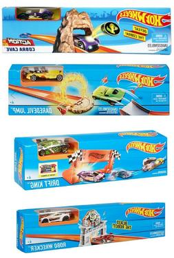 Hot Wheels Play Track Set Mattel - 4 themes to choose or get