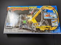 Hot Wheels Robo Wheels Crash Coaster Mattel Brand New in Box