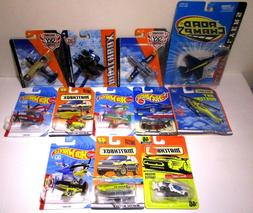 Hot Wheels Matchbox Sky Busters Diecast Military Planes Jets