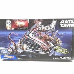 Hot Wheels STAR WARS Rathtar Escape Play Set Toy / BB-8 Vehi