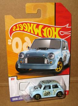 Hot Wheels TARGET ONLY 60s MORRIS MINI PEACE and LOVE  #1/8