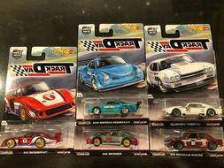 Hot Wheels Track Day 2017 Car Culture - Set Of 5 - 510, VW,