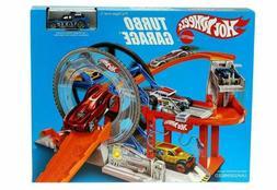 Hot Wheels Mattel Turbo Garage Play Set