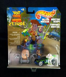 Hotwheels Action Pack Toy Story RC Car & Baby Face with Wood